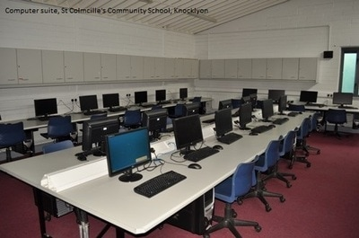 Computer Room, St Colmcille's Community School Knocklyon