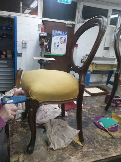Learn about Furniture Restoration and up-cycling