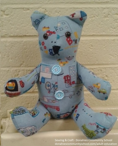 Fabric teddybear