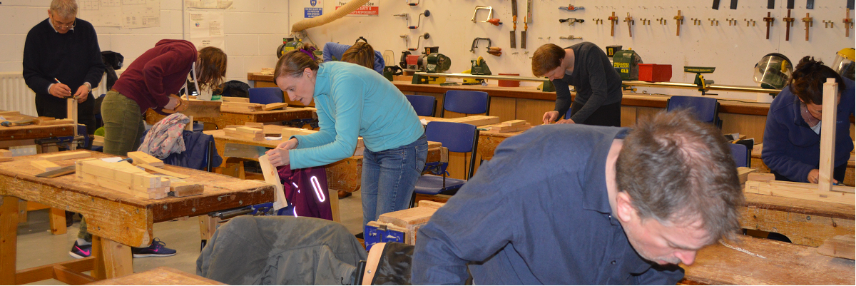 Woodwork, Furniture Making and carpentry courses for adults in Dublin, Limerick, Wexford and Kildare